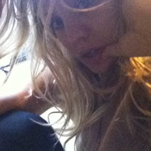 selfie exposing nipples of kaley cuoco