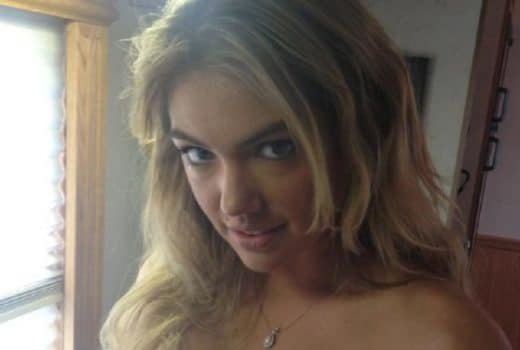 Kate Upton nude fappening pic looking fiercely into the camera