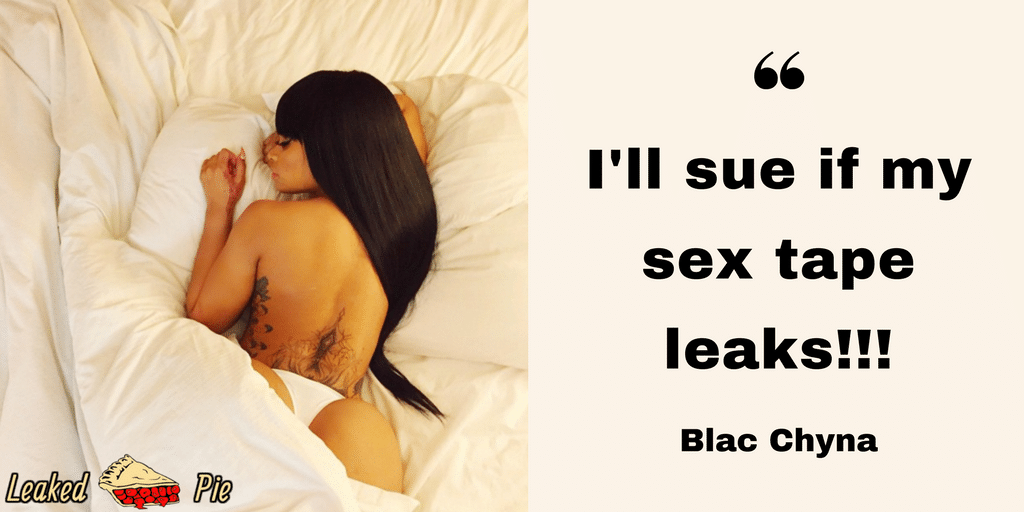 Photo of Blac Chyna in bed topless with ass out of the covers