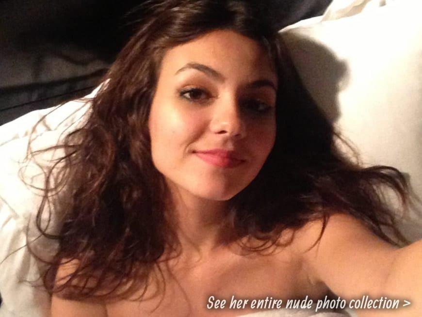 Victoria Justice fappening leak selfie
