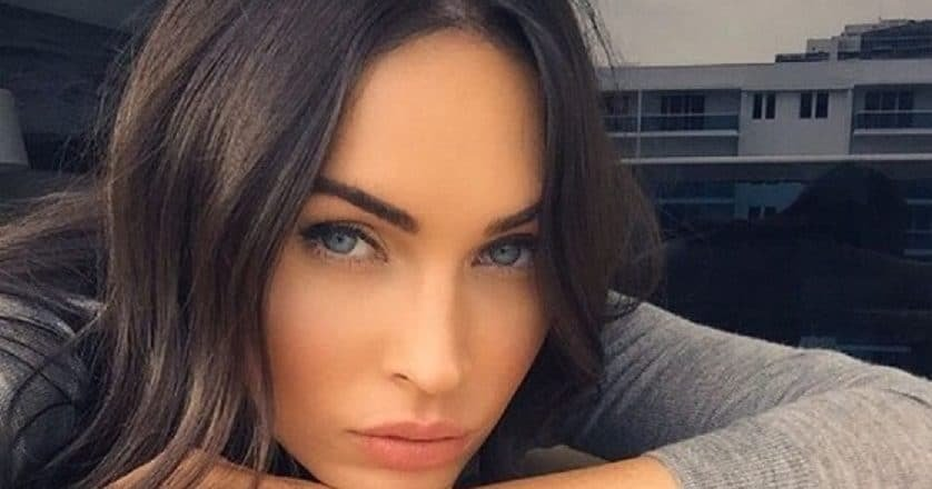 Megan Fox Instagram selfie