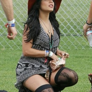 Vanessa Hudgens sexy stockings