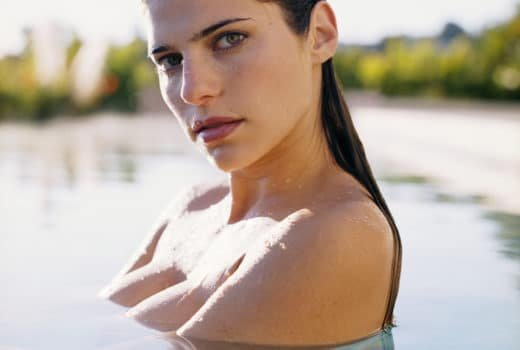 Lake Bell in the water