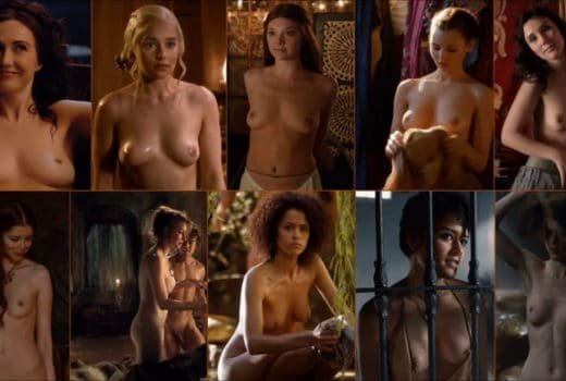 Game of Thrones topless combination