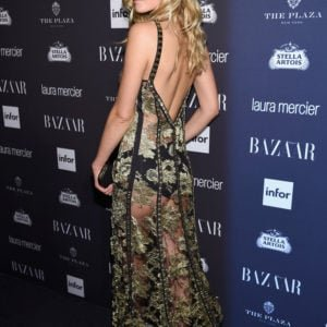 Toni Garrn see through dress at event (9)