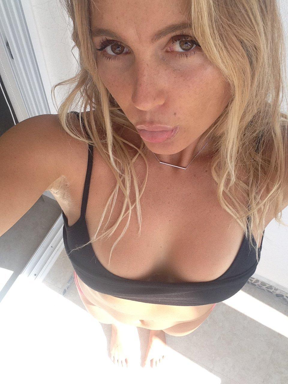 Alana Blanchard naked boobs