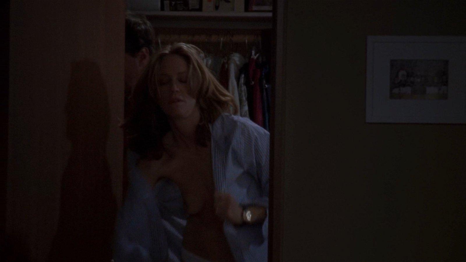 Ally Walker exposing boobs