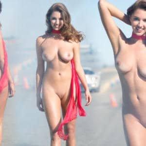 Alyssa Arce naked collage