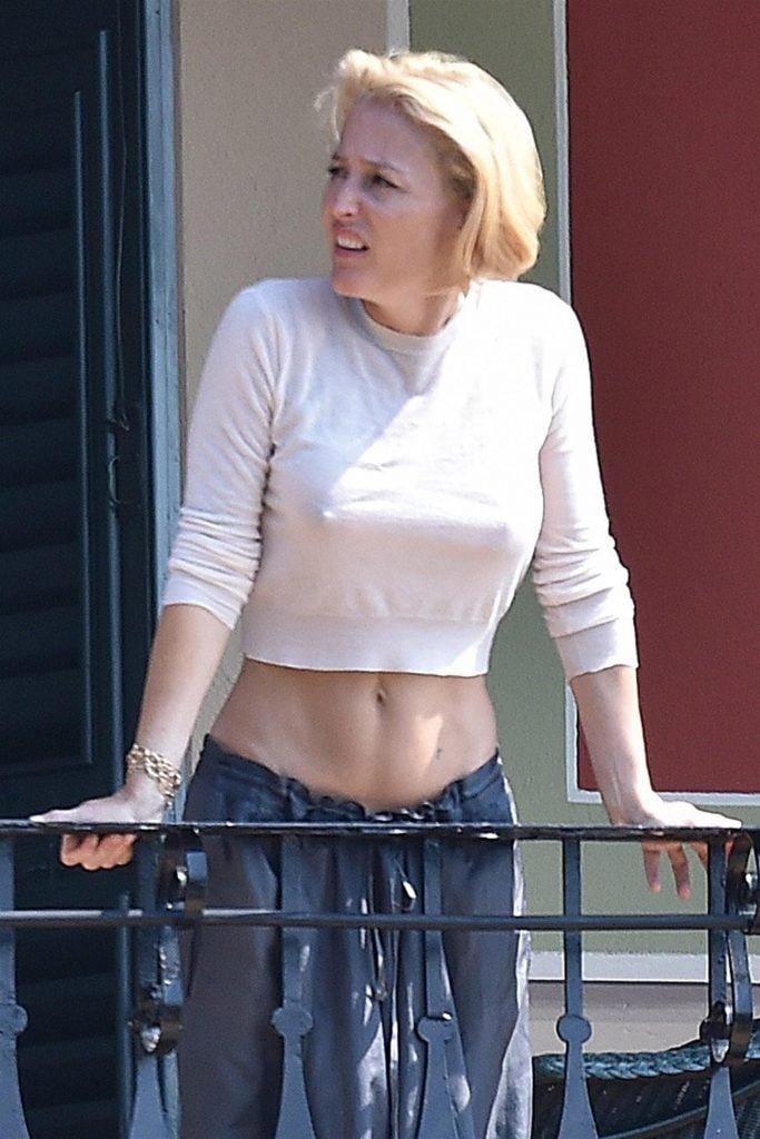Gillian Anderson nude boobs