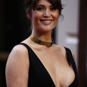 Gemma Arterton boob slip