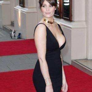 Gemma Arterton deep cleavage